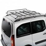 Modul Rack Alu Módulo portaequipajes con perfiles de aluminio y tubos de acero.