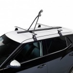 Bike Rack N Portabicicletas de techo en acero (negro).