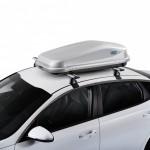 Easy 420GM Cofre de techo versátil para montaje sobre barras.