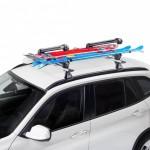 Ski Rack 6 Portaesquís para montaje sobre barras de techo con innovador sistema de cierre y antirrobo incluido