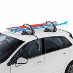 Aconcagua Portaesquís para fijación sobre el techo mediante una base magnética.